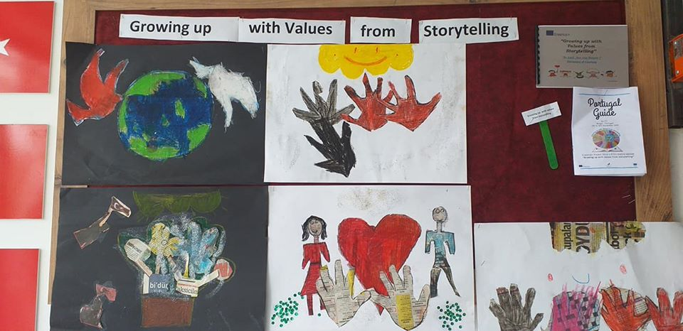 Growing up with Values from Storytelling - Turquia - Tolerância - Desenhos