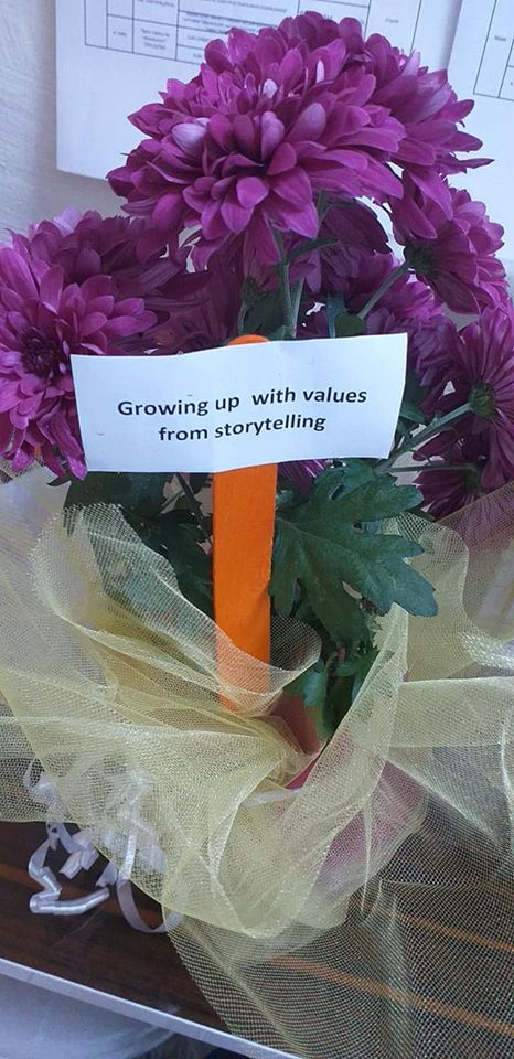 Growing up with Values from Storytelling - Turkey - Dissemination - Teachers Day Celebration 11