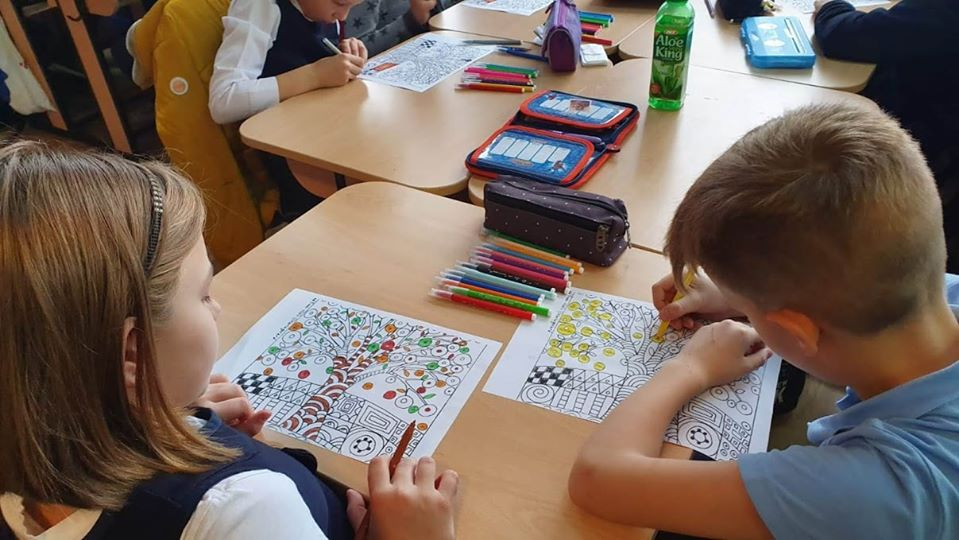 Growing up with Values from Storytelling - Romania - Tolerance - Coloring