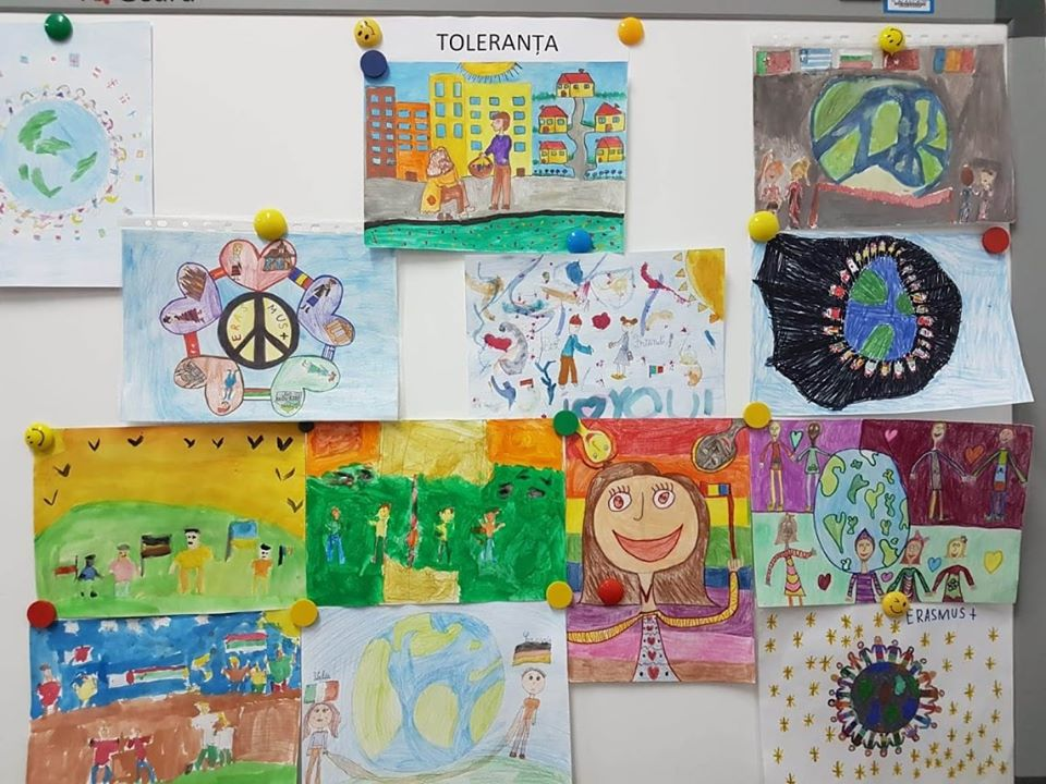 Growing up with Values from Storytelling - Romania - Tolerance - Paintings about Tolerance 7