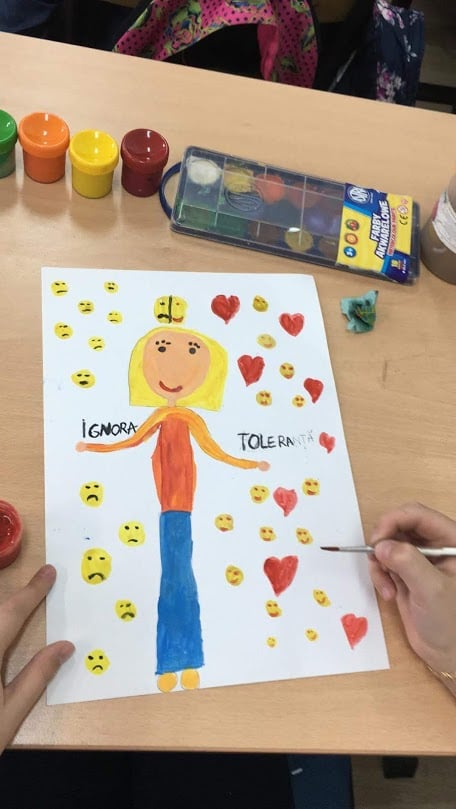 Growing up with Values from Storytelling -  Romania - Tolerance - Drawings 1