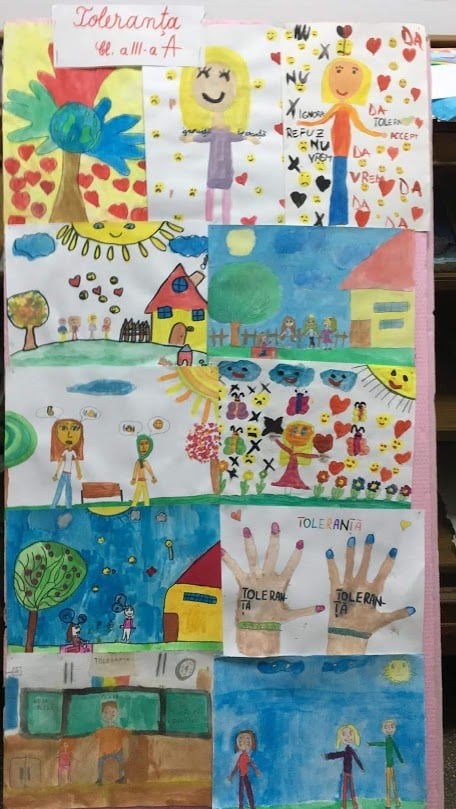 Growing up with Values from Storytelling -  Romania - Tolerance - Drawings 4