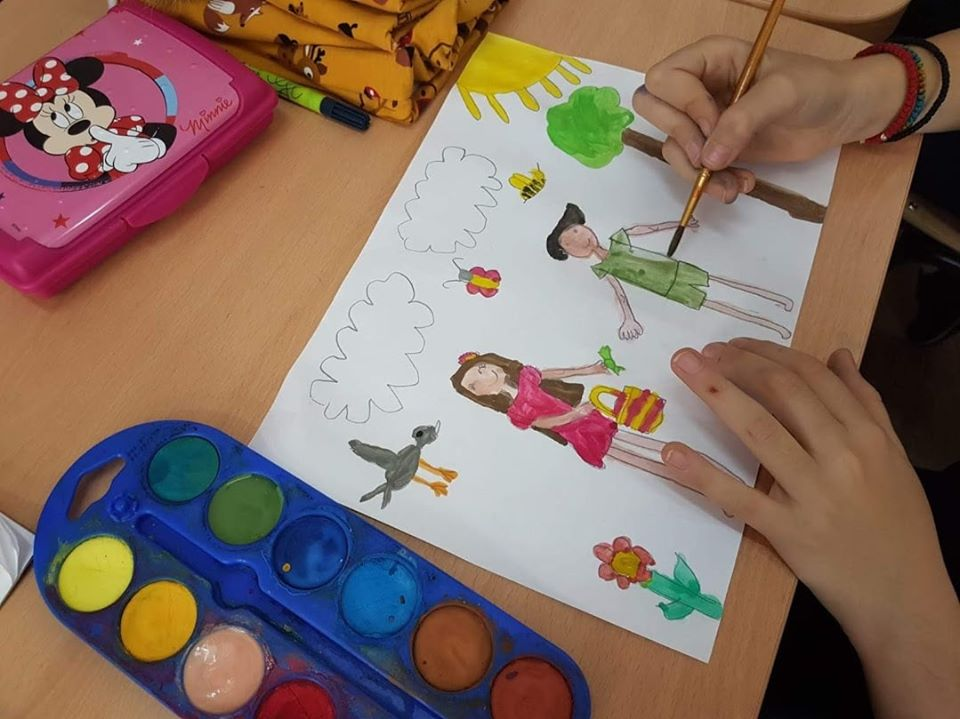 Growing up with Values from Storytelling - Romania - Tolerance - Paintings about Tolerance 4