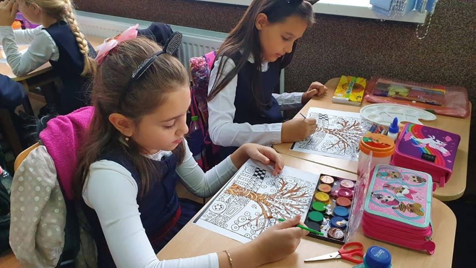Growing up with Values from Storytelling - Romania - Tolerance - Coloring 3
