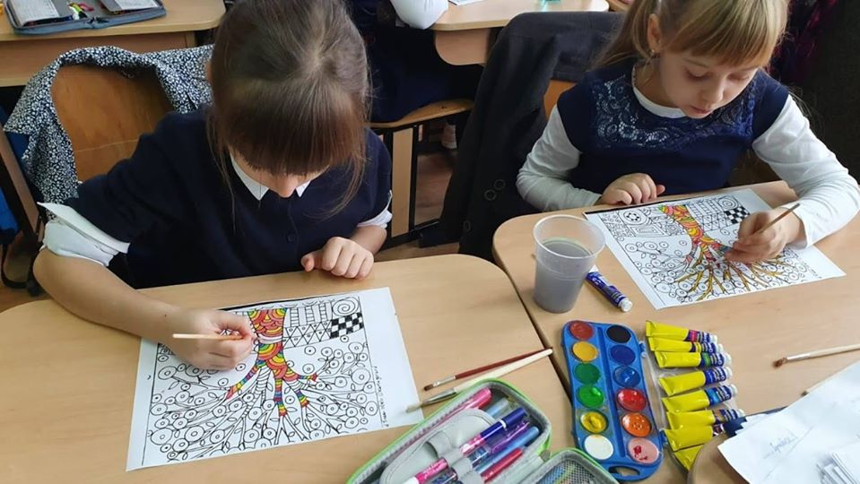 Growing up with Values from Storytelling - Romania - Tolerance - Coloring 4