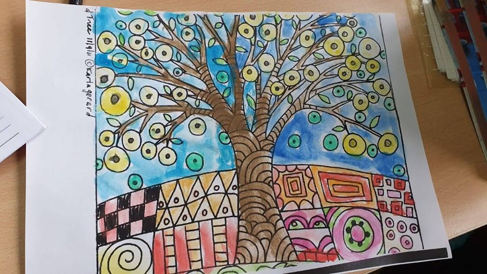 Growing up with Values from Storytelling - Romania - Tolerance - Coloring 5