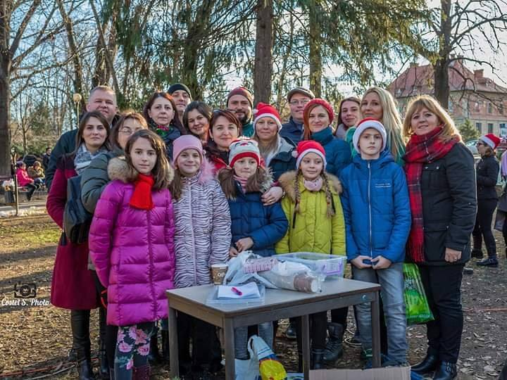 Growing up with Values from Storytelling - Romania - January 2020 - Month of Family - Charity Activity 2