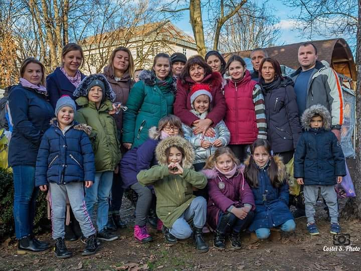 Growing up with Values from Storytelling - Romania - January 2020 - Month of Family - Charity Activity