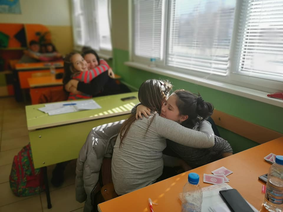 Growing up with Values from Storytelling - Bulgaria - January 20 - Month of Peace - Hugging Day
