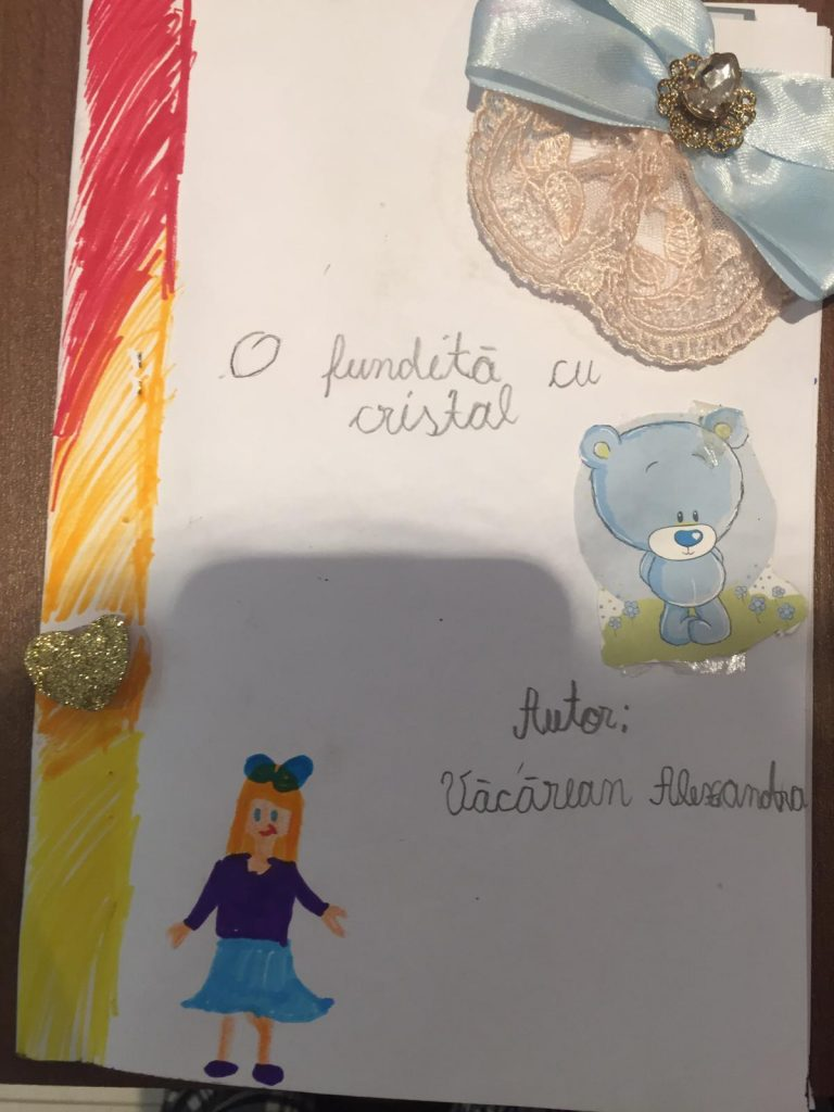Growing up with Values from Storytelling - Romania - May 20 - Month of Labour - International Book Day