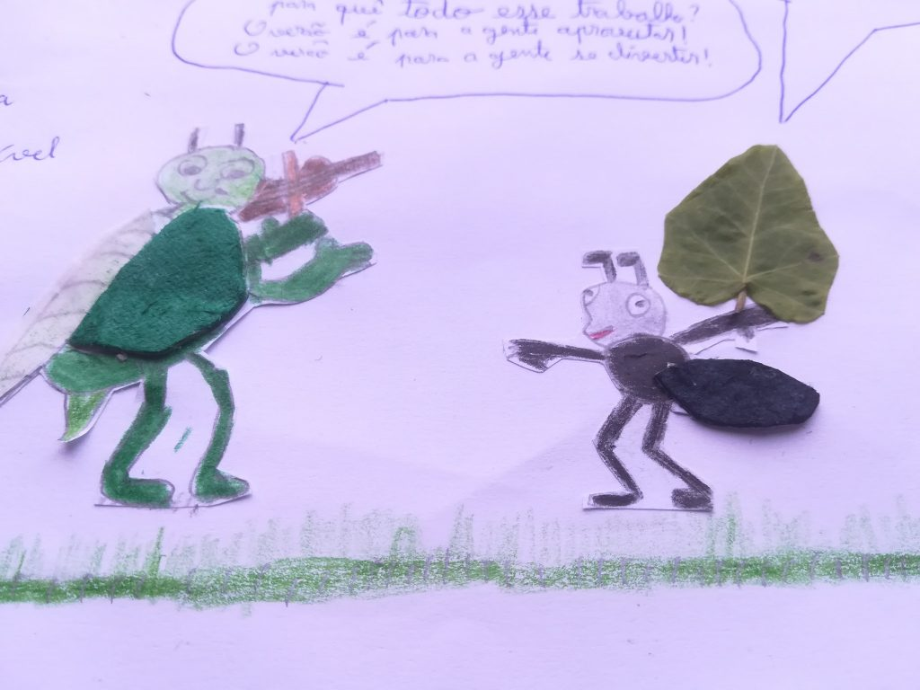 Growing up with Values from Storytelling - Portugal - May 20 - Month of Labour - Illustrations and Crafts