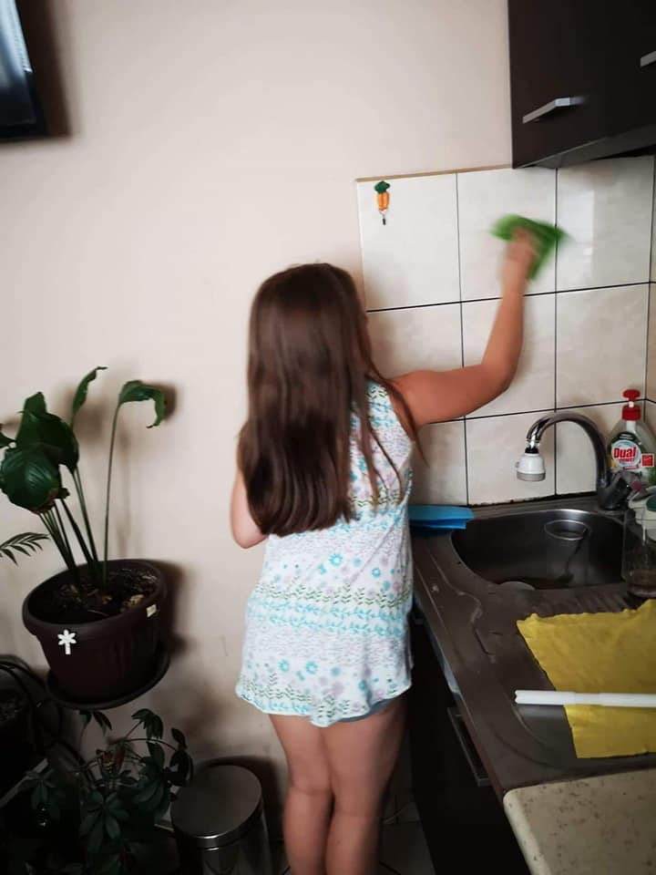 Growing up with Values from Storytelling - Bulgaria - May 20 - Month of Labour - Home tasks