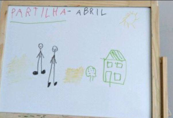 Growing up with Values from Storytelling - Portugal - April 20 - Month of Sharing - Drawings