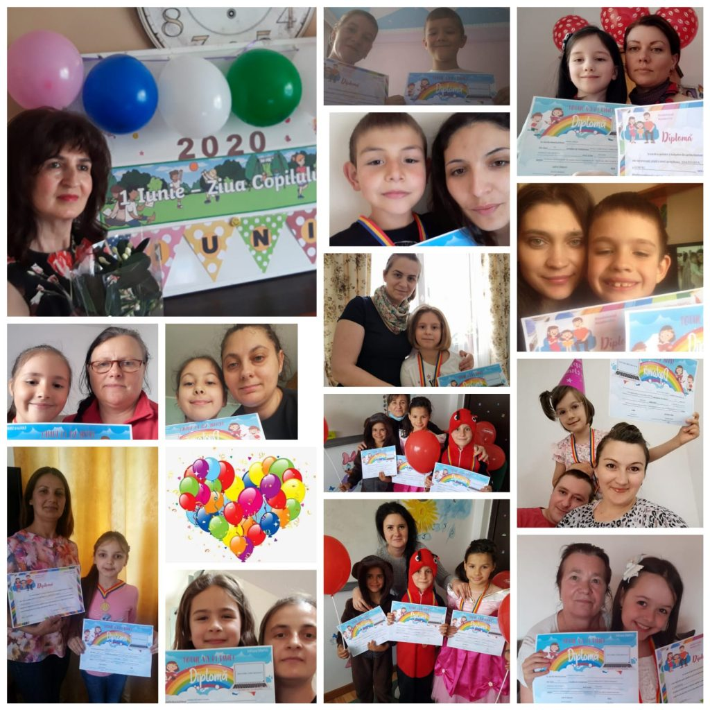Growing up with Values from Storytelling - Romania - June 20 - Month of Happiness - Children's Day