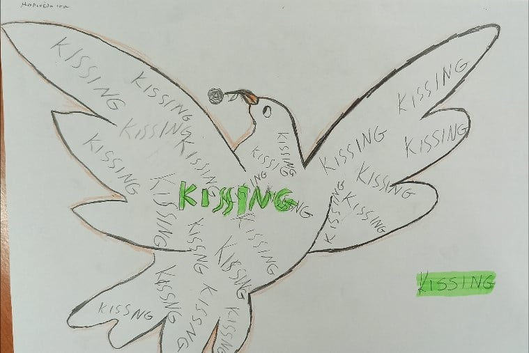 Growing up with Values from Storytelling - Greece - January 20 - Month of Peace - Artistic Works