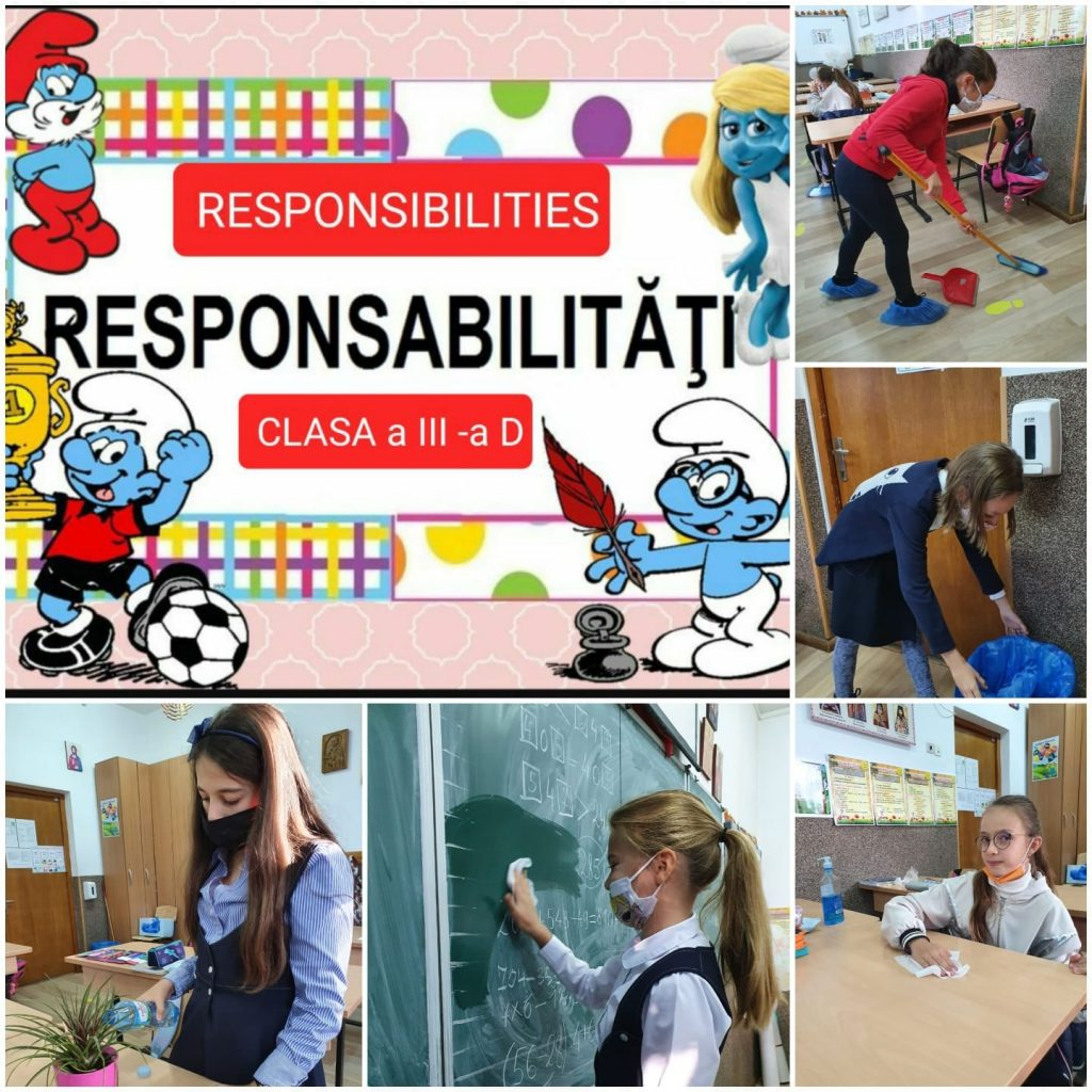 Growing up with Values from Storytelling - Romania - September 20 - Month of Responsability - Map of Responsabilities