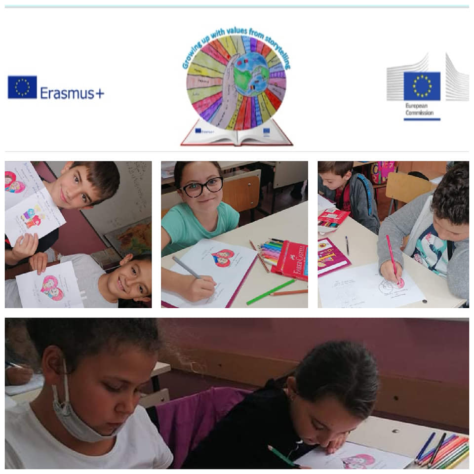 Growing up with Values from Storytelling - Bulgaria - September 2020 - Month of Responsability - How to treat the elderly responsibly