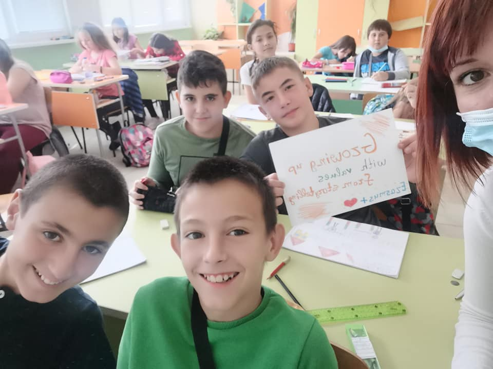 Growing up with Values from Storytelling - Bulgaria - October 2020 - Month of Cooperation