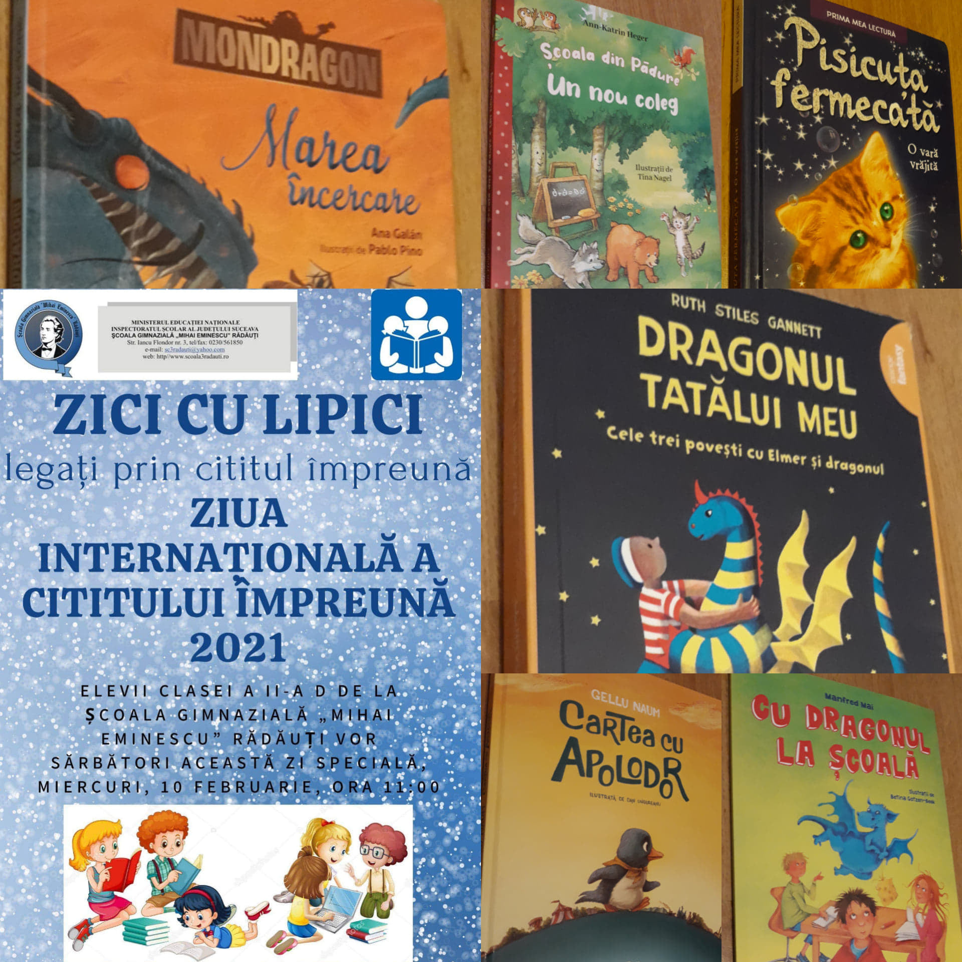 Romania – Reading Together