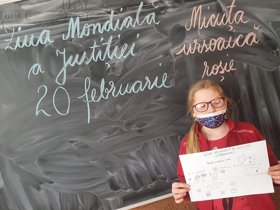 Growing up with Values from Storytelling - Romania - February 21 - Month of Justice - Justice