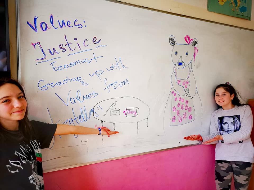 Growing up with Values from Storytelling - Bulgaria - Month of February 21 - Justice - Story