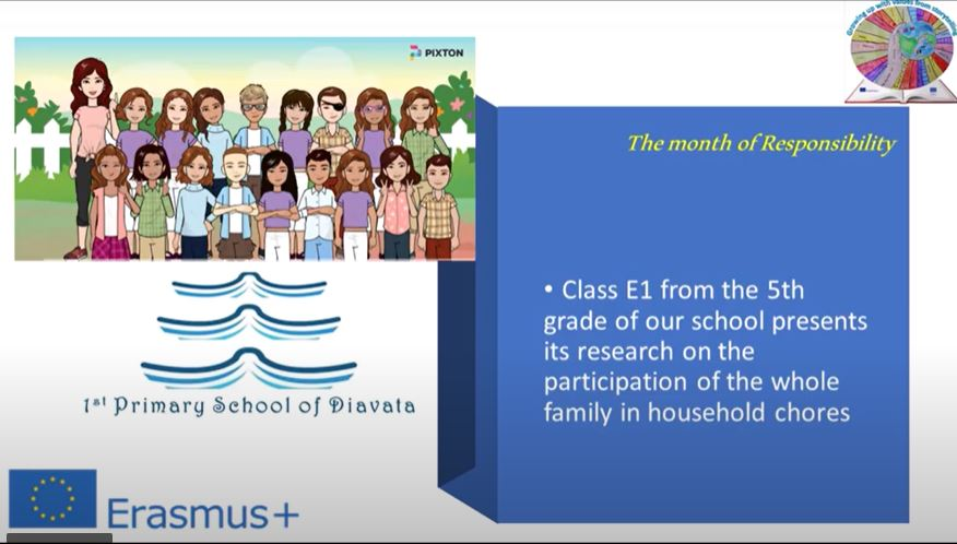 Greece – Comic with the results of questionnaires for parents