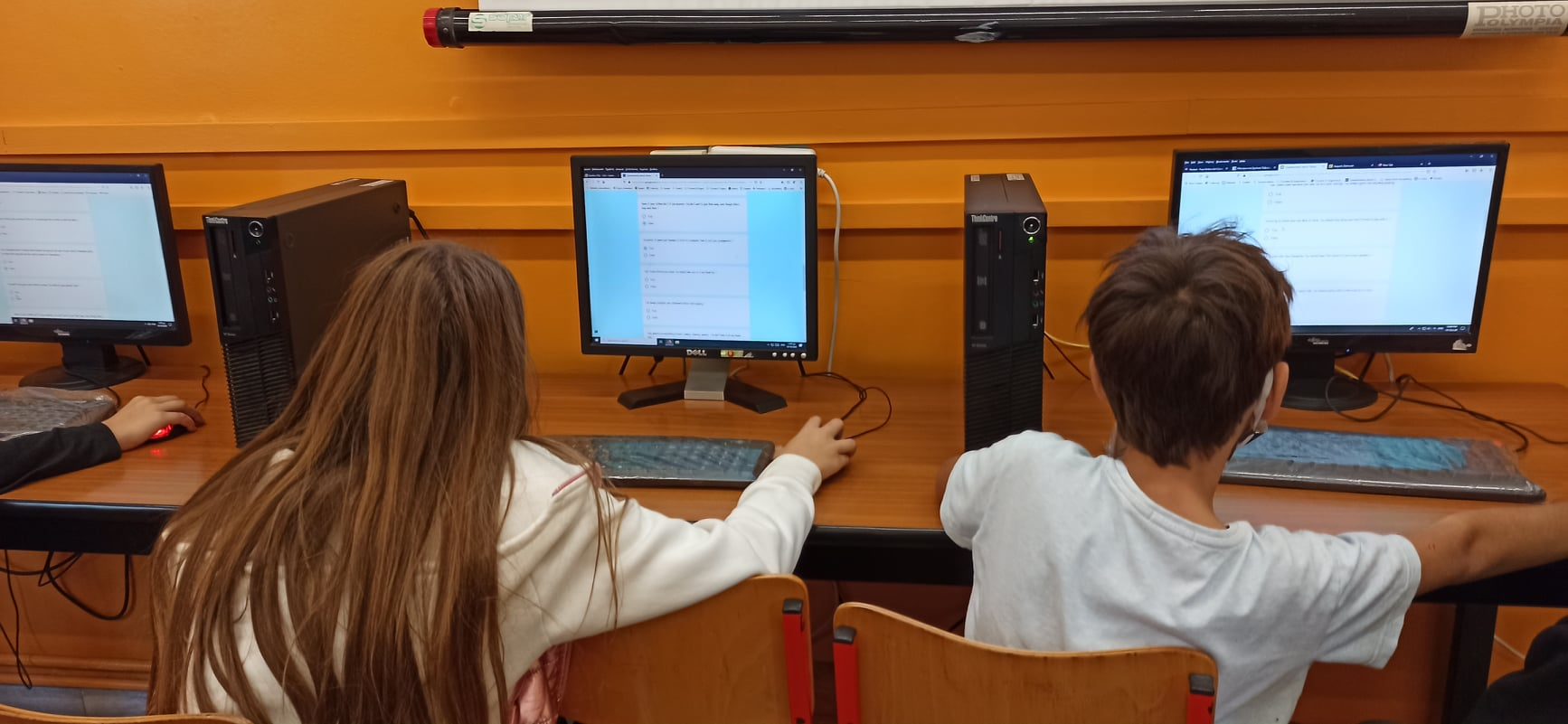 Greece – Application of questionnaires to students